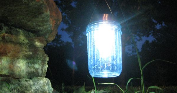Mod Podge Mason Jar Solar Garden Lights