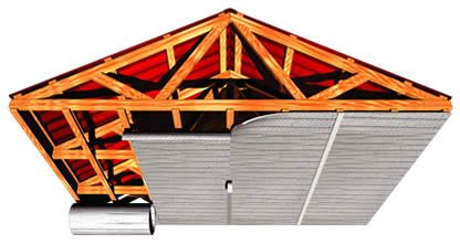 How to insulate a pole barn pole barn insulation options for Garage roofing options