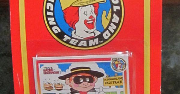 1994 racing champions mcdonald s hamburglar die by