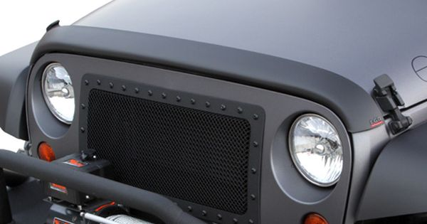 Jeep Accessory Egr Jeep Wrangler Matte Black Superguard Bug