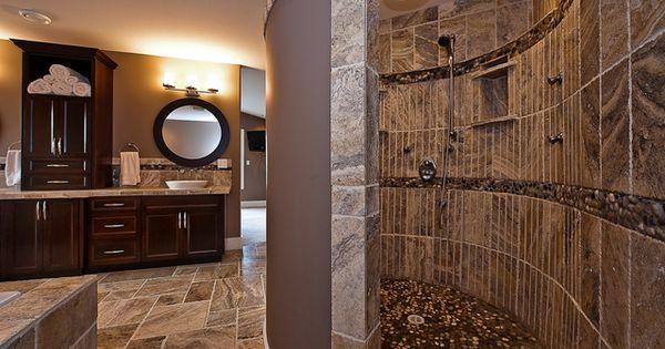 Doorless Seashell Shower Jpg Home Design 1 Pinterest