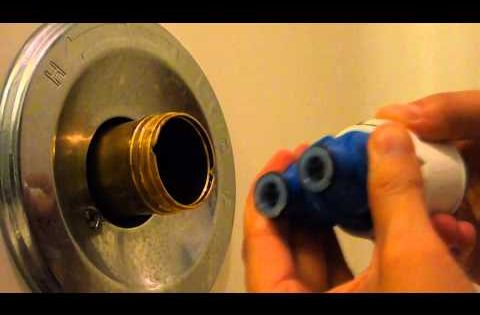 Dismantling a Delta 1400 Series Bathtub Faucet (or, How to