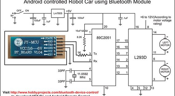 Simple Android Bluetooth Remote Control Project for Robot ...