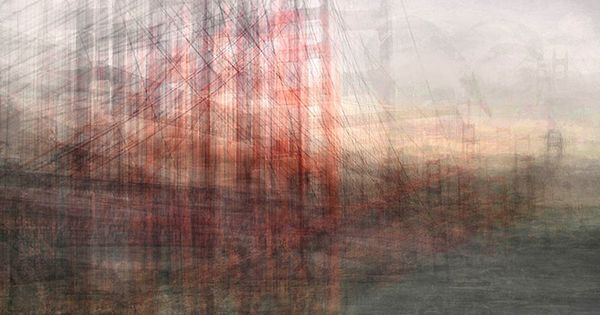 It's true art! The Golden Gate Bridge | Seen Through The Eyes