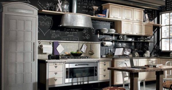Industrieel en vintage door zaza industrial pinterest industrieel vintage deuren en - Vintage keukens ...