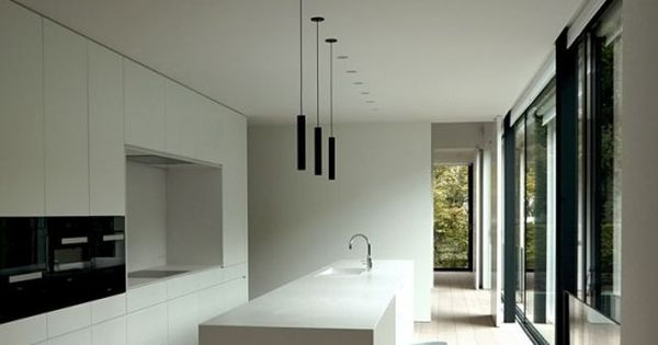 37 Functional Minimalist Kitchen Design Ideas Digsdigs Dream Home Pinterest Minimalist
