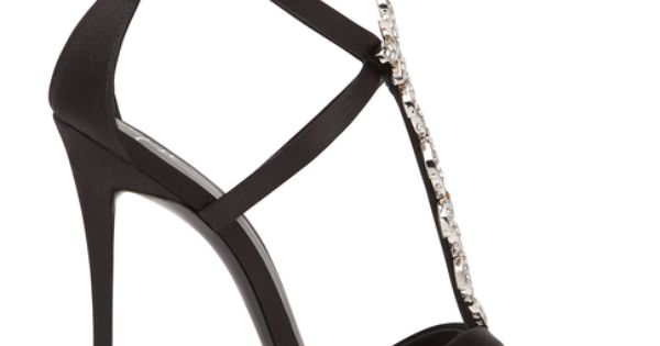 Jeweled sandals - LUCILLE @ Giuseppe Zanotti Design Online Store