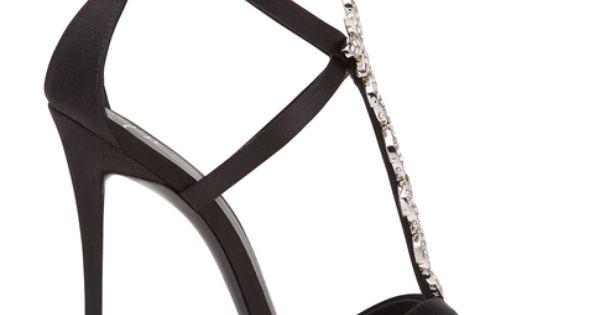 Jeweled sandals - LUCILLE @ Giuseppe Zanotti Design Online Store