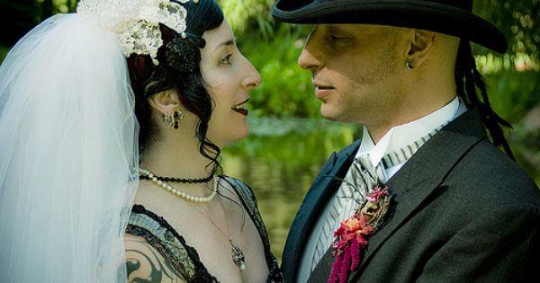 Pin On Gothic Chic Wedding