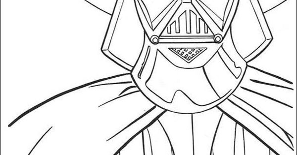 DARTH VADER Coloring Pages : 11 Star Wars Online Coloring