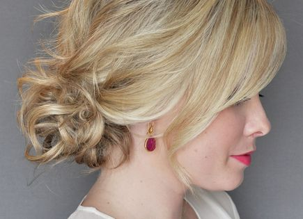 How to Do the Side Updo With a Twist | Don't worry