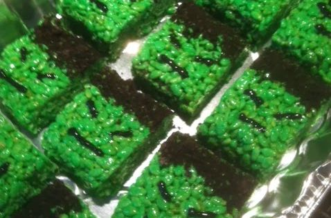 Diy Sweet Treats Incredible Hulk Rice Krispie Treats
