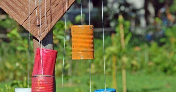 Activit S Manuelles Et Jeux Enfants En Plein Air En 20 Id Es Originales Carillon Bricolage