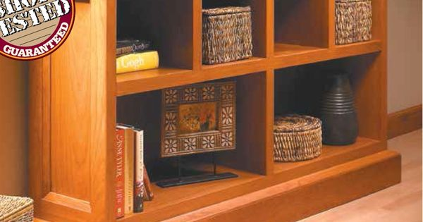 Low Cherry Bookcase | Woodsmith Plans | Pinterest | Cherry ...