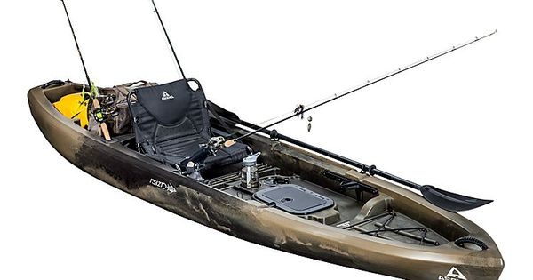 Ascend fs12t sit on top angler kayak camo bass pro for Ascend fs12t fishing kayak