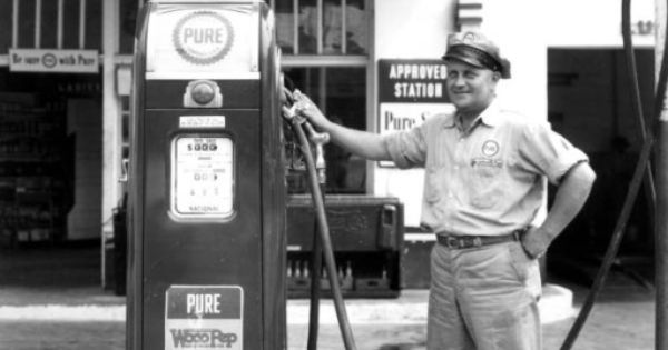 Gas Station Attendant | Gas Stations & Motels - USA | Pinterest ...