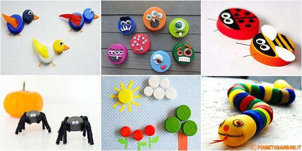 Lavoretti Pianetabambini It Fai Da Te E Hobby Kids Crafts Fai Da Te Bricolage