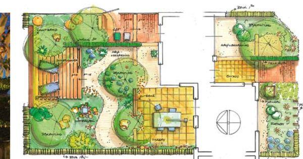 Plattegrond kleine tuin tuin van het jaar 2010 garden for Tuinontwerp boek