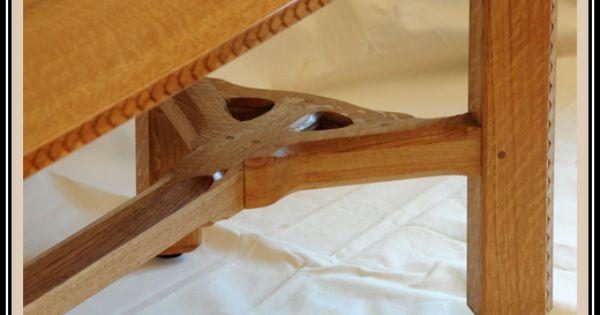 Barnsley Style Hay Rake Table Detail