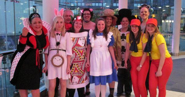 Group Fancy Dress Ideas For Hen Party: Alice In Wonderland Fancy Dress