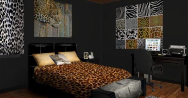 Leopard Print Pallet Bedroom Decor. Cheetah Print Bedroom Ideas        com  Animal Prints   Making a