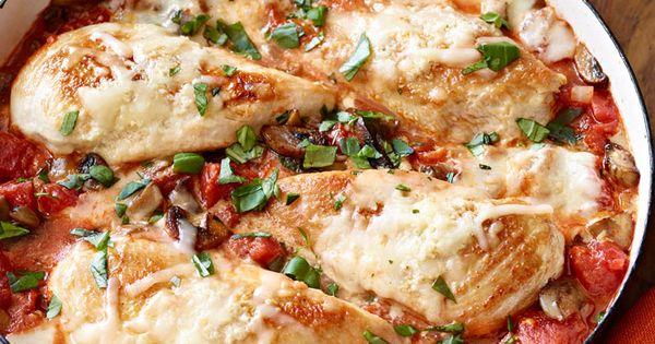 Poêlée de poulet au parmesan - Un plat à l'italienne que vous