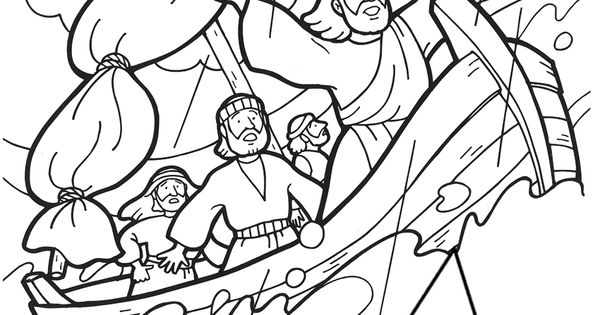 matthew 8 coloring pages - photo#36