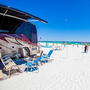 Destin Florida Rv Park Camp Gulf Camping Locations Florida Camping Beach Camping