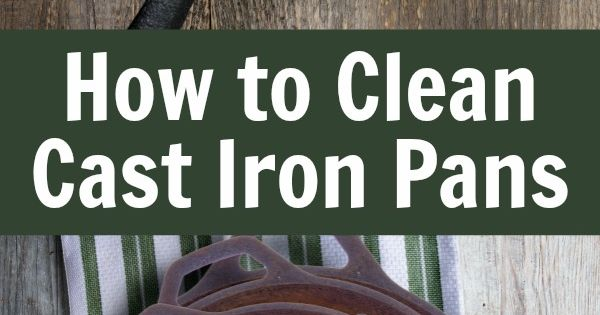 here are detailed steps showing you how to season and clean cast iron pots and pans including. Black Bedroom Furniture Sets. Home Design Ideas