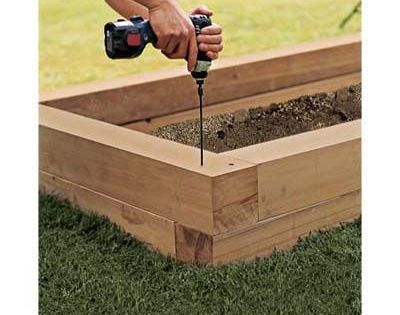 20 Brilliant Raised Garden Bed Ideas You Can Make In A: How To Build A Raised Planting Bed