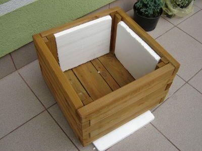 Donice Drewniane Na Balkon I Taras Jak Zrobic Impregnowane I Ocieplane Diy Garden Trash Can