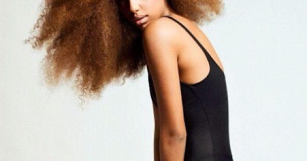 Wild Hair - Natural Beauty!
