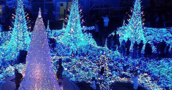 **Christmas in Caretta-Shiodome, Tokyo, Japan