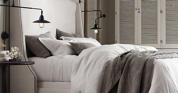 restoration hardware bedding | ... Belgian Linen Bedding Collection | Bed Linens