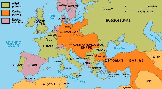 Alliances of ww1 was another MAIN cause because this divided the ...