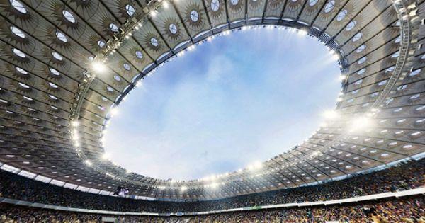 Philips Led Lighting Brightens Main Stadiums In Ukraine And Poland Stadium Lighting Stadium Philips Led