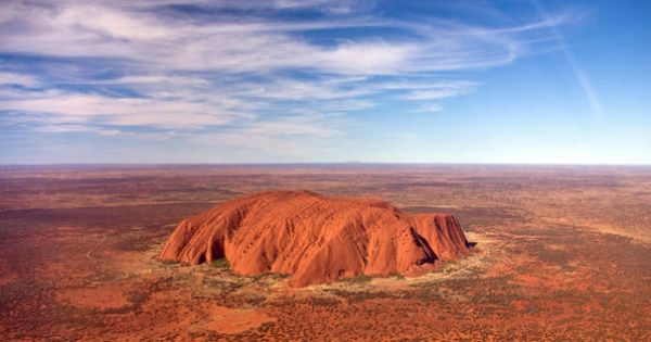 It's one of Australia's most iconic images -- Ayers Rock. This spectacular