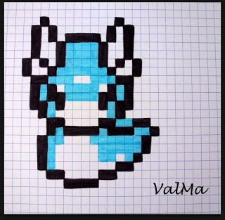 Les Créas De Valma Diy Enfants Dessin Pixel Pixel Art