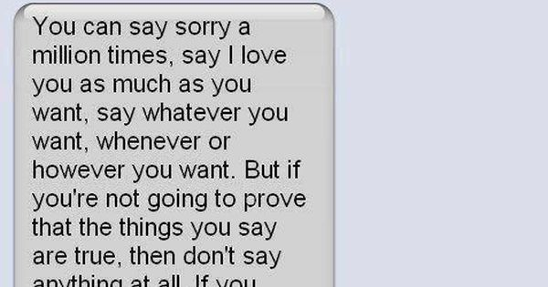 So Very True Words Mean Nothing Actions Mean Everything Quotes