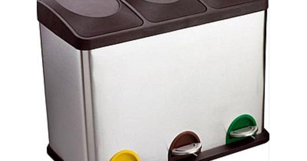 Recycle afvalbakken pinterest for Papelera reciclaje ikea