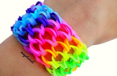 Pulseras Con Ligas Super Facil 3 Diseños Youtube Rainbow Loom Bracelets Easy Rainbow Loom Rainbow Loom Patterns