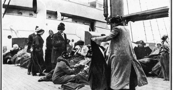 Titanic Survivors 1912 The Titanic Pinterest On