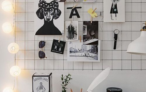 Manic monday creative inspiration board lund room ideas for Gitter pinnwand