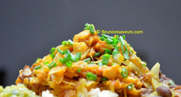 Recette de cuisine rougail morue cr ole de la r union cuisine cr ole plats pinterest - Recette de cuisine creole reunion ...