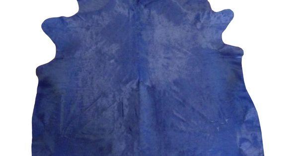 alfombra piel vaca estampada azul productos. Black Bedroom Furniture Sets. Home Design Ideas