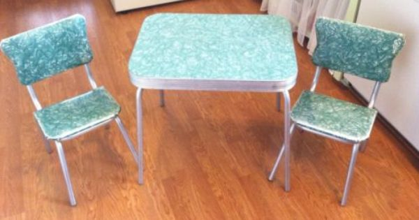 Pin By Retro Mama On For The Home Vintage Dining Room Table