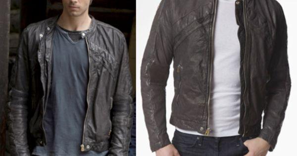 John Young (Luke Mitchell) Wears A Diesel Lumi Leather