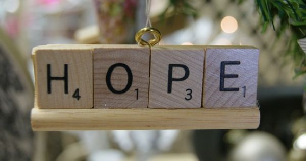 scrabble tiles DIY christmas ornaments