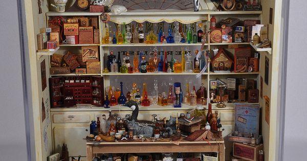 Pharmacy in it 39 s display case display case pharmacy - Cabinet medical saint germain en laye ...