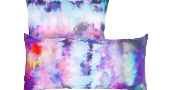 Zara Watercolor Pillows Watercolor Pillows Pillow Decorative Bedroom Tie Dyed Pillows